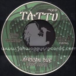 """Taitu Records-7""""-African Dub / Leroy Mafia"""