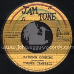 """Jam Tone Records - 7"""" - Rainbow Country  / Cornel Cornell"""