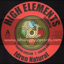 """High Elements Dubwise-12""""-Gideon Souljah / Idren Natural + Stand Firm / Bunnington Judah"""