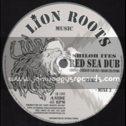"""Lion Roots Music-12""""-Red Sea Dub / Shiloh Ites + World In Trouble / Dub Bringer"""