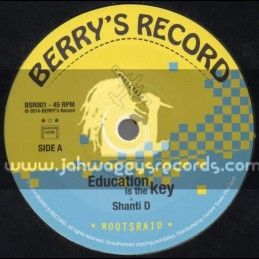 "Berrys Record-7""-Education Is The Key / Shanti D"