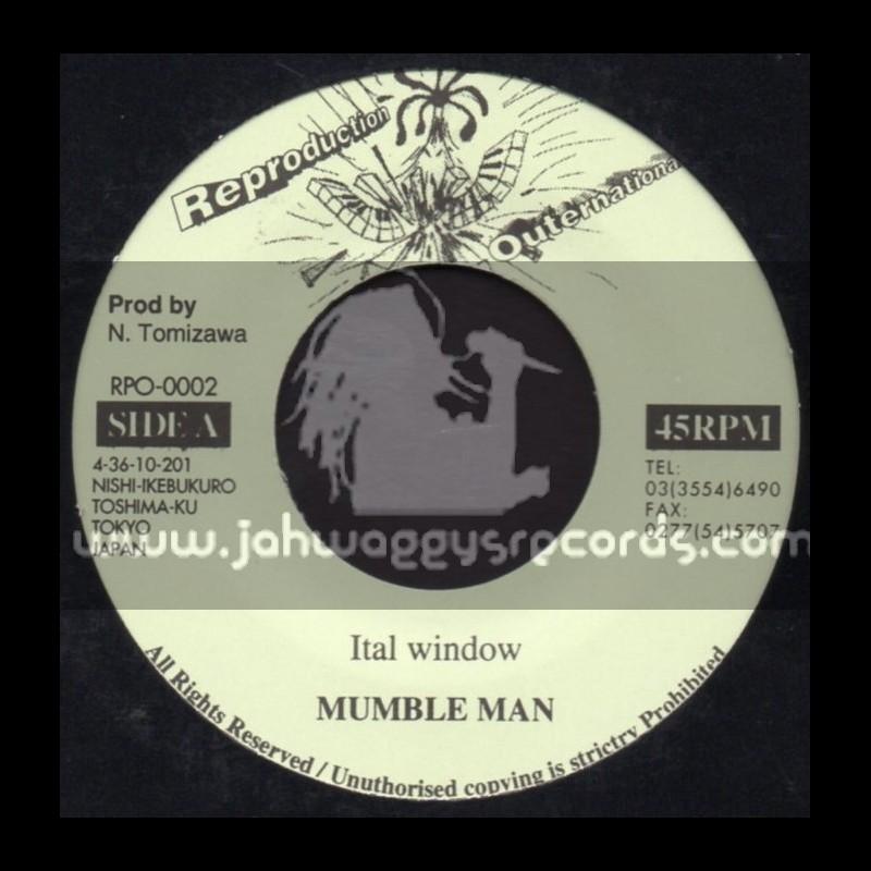 "Reproduction Outernational-7""-Ital Window + Solemn Dub / Mumble Man"