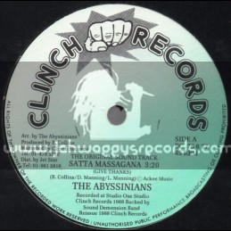 "Clinch Records-7""-Satta Massagana / The Abyssinians"