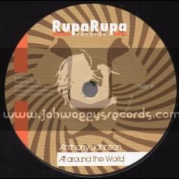 """Rupa Rupa Records-7""""-All Aound The World / Anthony Johnson + No One Knows / Tough Tone"""
