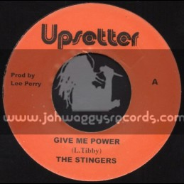 "Upsetter - 7""- Give Me Power / The Stingers"
