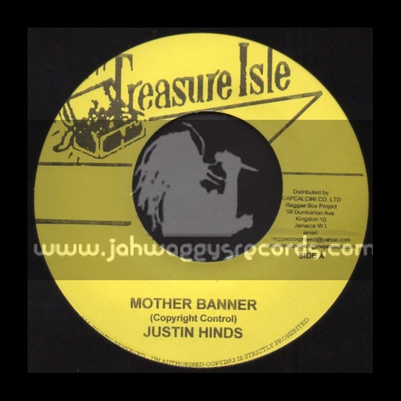 "Treasure Isle-7""-Mother Banner / Justin Hinds + Ally Pon / Don Drummond"