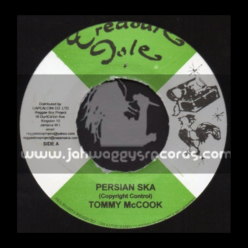 """Treasure Isle-7""""-Persian Ska / Tommy McCook + Once A Man Twice A Child / Justin Hinds"""