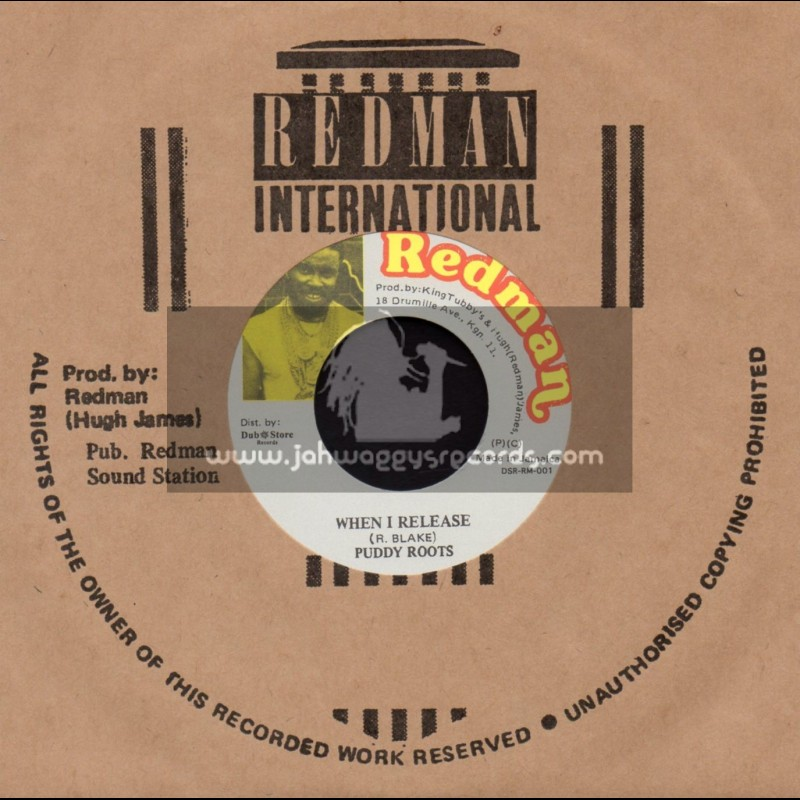 """Redman international-7""""-When I Release / Puddy Roots"""