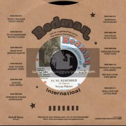 """Redman international-7""""-Yu Nu Remember / Wayne Palmer"""