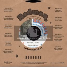 "Redman international-7""-Rub A Dub One / Little John"
