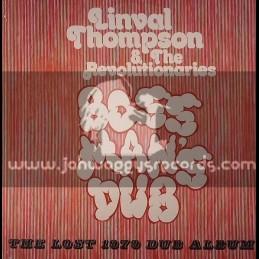 Hot Milk-LP-Boss Mans Dub - The Lost 1979 Dub Album - Linval Thompson & The Revolutionaries