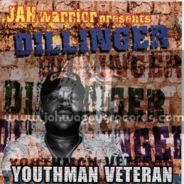Jah Warrior Records-LP-Youthman Veteran / Dillinger
