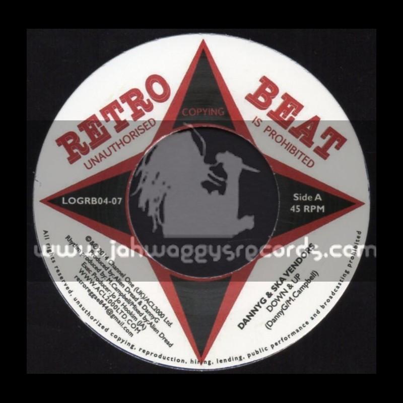 """Retro Beat-7""""-Down & Up / Danny G & Ska Vendors"""