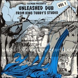 Fat Man-Lp-Unleashed Dub From King Tubbys Studio Vol 1