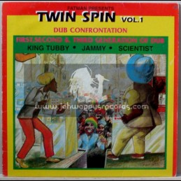 Fat Man-Lp-Dub Confrontation / Twin Spin Vol 1 / King Tubby - Jammy - Scientist
