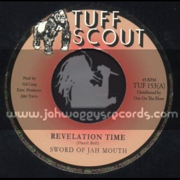 """Tuff Scout-7""""-Revelation Time / Sword Of Jah Mouth"""