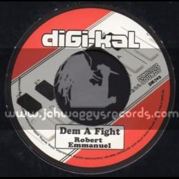 "Conscious Sounds-Digi Kal-7""-Dem A Fight / Robert Emmanuel"