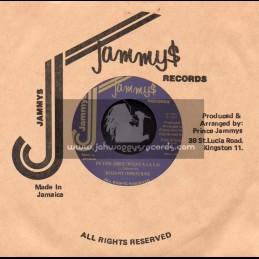 "Jammys Records-7""-In The Area (What A La La) / Johnny Osbourne"