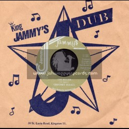 """Jammys Records-7""""-The Ruler / Gregory Isaacs"""