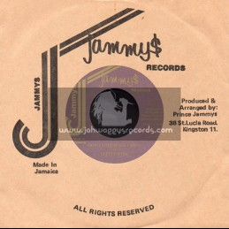 """Jammys Records-7""""-Dont Touch The Crack / Little Kirk"""