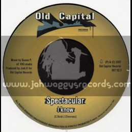 """Old Capital Records -7""""- I Know / Spectacular + Tell Me Why / Malijah"""