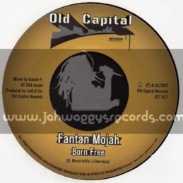 "Old Capital Records -7""- Born Free / Fanton Mojah"
