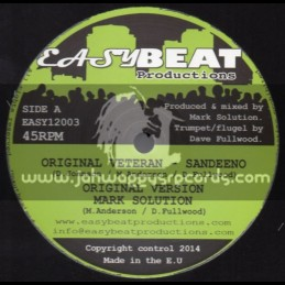 "Easy Beat Productions-12""-Original Veteran / Sandeeno"