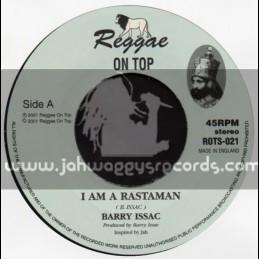 """Reggae On Top-7""""-I Am A Rastaman / Barry Issac"""