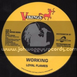 """Vikings Productions-7""""-Working / Loyal Flames + Save The Music / Exco Levi"""
