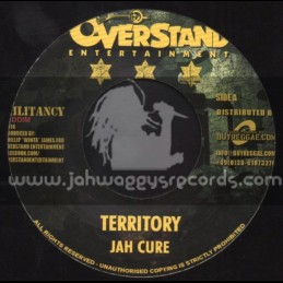 """Overstand Entertainment-7""""-Territory / Jah Cure + Preying On The Weak / Jessie Royal"""