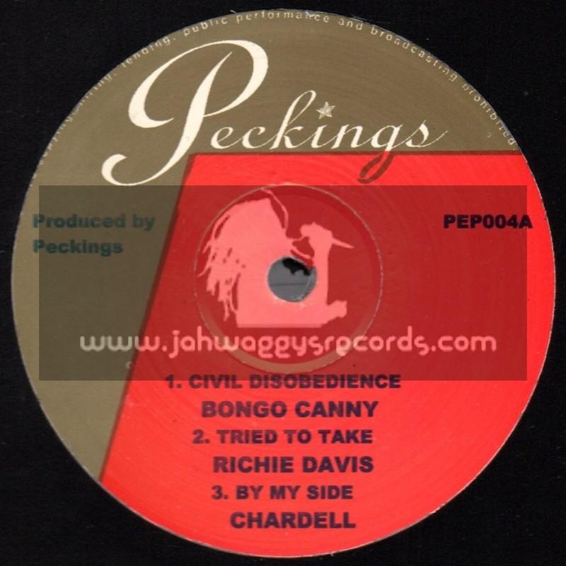 "Peckings-10""-Jah Always - Starky Banton + Jailhouse Nuh Nice - Baby Boom + Jailhouse Blues - Matrix"