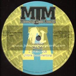"Messenjah Music Records-10""-Africa / Ras Teo + Dreamland Steppa / Appocalypse Dub Faction"