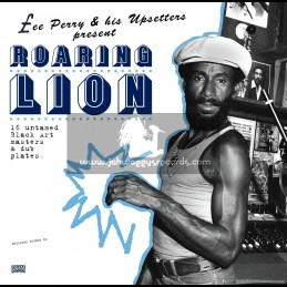 Pressure Sounds-Double LP-Lee Perry & His Upsetters Present ~ Roaring Lion ~ 16 Untamed Masters & Dub Plates