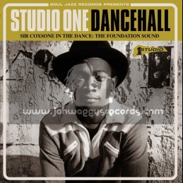 Soul Jazz Records-Triple Lp-Sir Coxone In The Dance-Foundation Sound-Studio 1 Dancehall