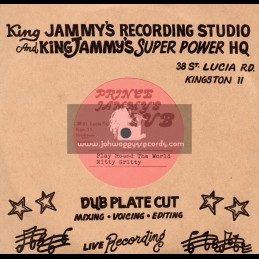 "Prince Jammys Dub-7""-Play Around The World + Kill Them All / Nitty Gritty"