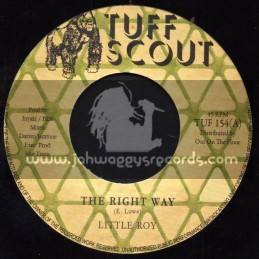 """Tuff Scout-7""""-The Right Way / Little Roy"""