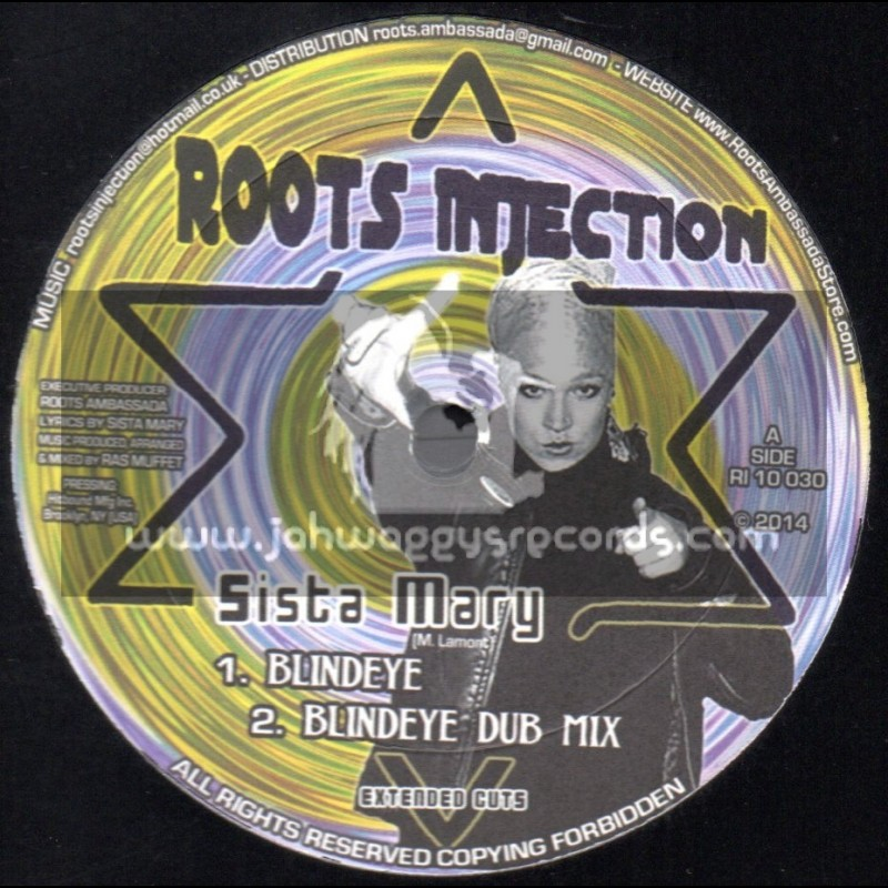"""Roots Injection-10""""-Blind Eye + Dem Lost / Sista Mary"""