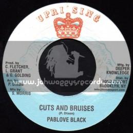 "Uprising-7""-Cuts & Bruises / Pablove Black + Blood Of The Lamb / Advocates Aggregation"