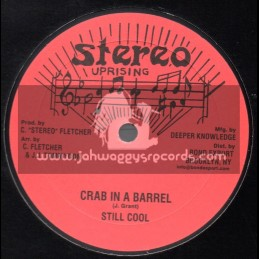 """Stereo Uprising-10""""-Crab In A Barrel / Still Cool + Ivory Girl / Thomas White"""