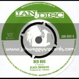 "Jan Disc-7""-Bed Bug + The Keeper / Black Emeralds"