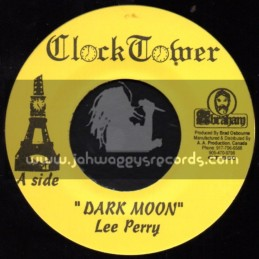 """Clock Tower Records-7""""-Dark Moon / Lee Perry & The Upsetters"""
