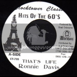 "Clock Tower Records-7""-Thats Life / Ronnie Davis"