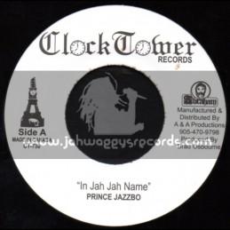 "Clock Tower Records-7""-In Jah Jah Name / Prince Jazzbo"
