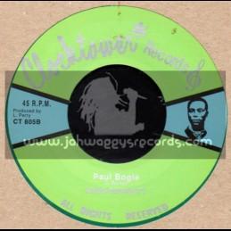 "Clock Tower Records-7""-Paul Bogle / King Burnett"