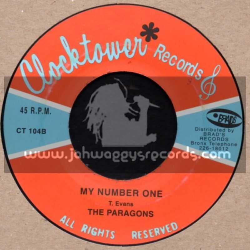 """Clock Tower Records-7""""-My Number One + Memories By The Score / The Paragons"""