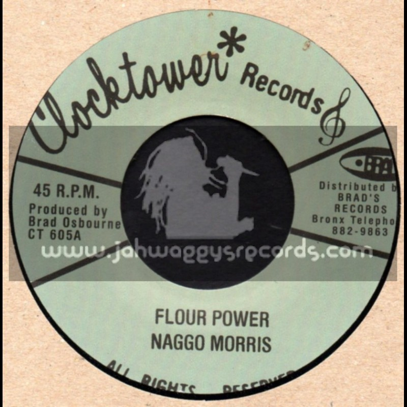 """Clock Tower Records-7""""-Flour Power / Naggo Morris"""