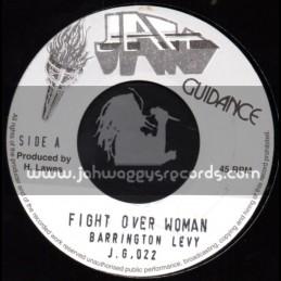 "Jah Guidance-7""-Fight Over Woman / Barrington Levy"