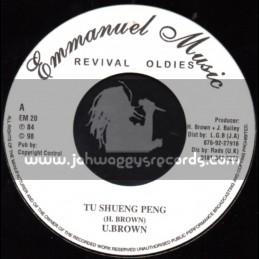 """Emmanuel Music-7""""-Tu Shueng Peng / U Brown"""