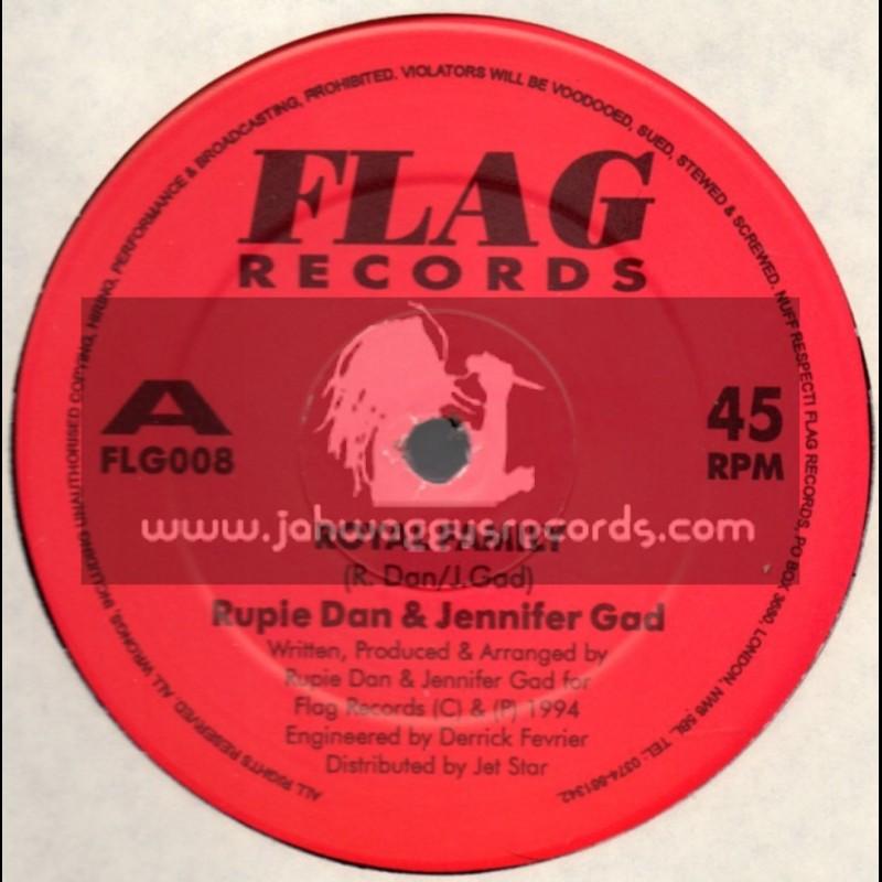 "Flag Records-12""-Royal Family + Rastafari Live / Rupie Dan & Jennifer Gad"