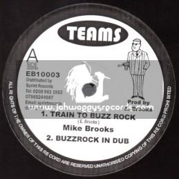 "Teams-10""-Train To Buzz Rock + Sinnerman / Mike Brooks"